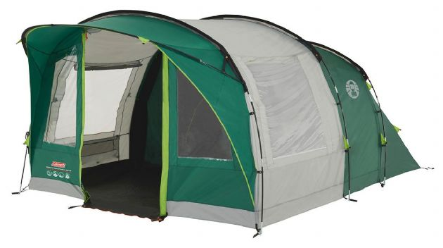 Coleman Rocky Mountain 5 Plus Family Camping Tent - Grasshopper Leisure